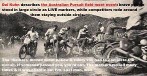 1950 6-0 CC14 FIELD MEET, Australian Pursuit Old Crater Camp