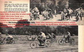 1950 6-0 CC15 Old Crater Camp Field Meet RUN & RIDE