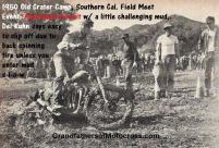 1950 6-0 CC20 Old Crater Camp Australian Pursuit