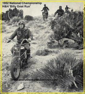 1952 12-7 c1a Billy Goat National H&H The easy part of the course