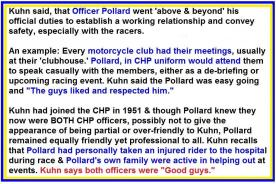 1953 5-0p1d special racing CHP officers Chuck Pollard & Ezra Ehrhardt