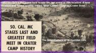 1953 6-0cy 2b SoCal MC, Last Field Meet at Old Crater Camp