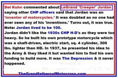 c10 Trailblazers 1950 3-25P Kuhn comments CHP LeGrand Jordan aka Creeper Jordan