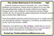 c14 The Jordan Motorcycle & LeGrand Jordan life