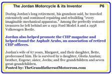 c19 The Jordan Motorcycle & LeGrand Jordan life