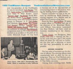 c5 Trailblazers 1950 3-25g 11th, Rodger Young Aud., J. Chann, Ludlow, Loftin, Elder, Bigsby, Lamoreaux, Harper