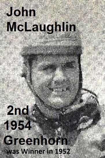 1954 a11 Greenhorn 2nd place John McLaughlin, Kuhn best friend