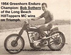 1954 a8 Bob Sothern wins 1954 Greenhorn on Triumph