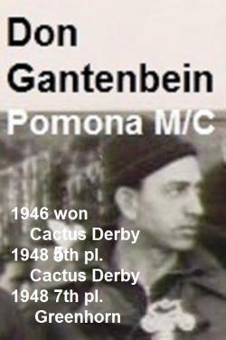 1992 4-25 a10 Bombers Dinner, CACTUS DERBY Don Gantenbein, 1946 winner