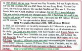 1992 4-25 a12 CACTUS DERBY 1947 & 1948 history, Sterner, Proenneke, R. Adams, Dunham, Onan, Larry & Guy Lewis, Bubeck, Moffit, Belin, Durham