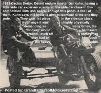 1992 4-25 a38 Bombers Dinner, side car 1953 Del Kuhn & Bob Akers, 1st place side car
