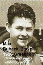 1956 a18 Greenhorn, overall 2nd pl. Max Bubeck