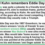 1980 a1 possibly. Del Kuhn remembers Eddie Day