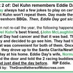 1980 a2 possibly. Del Kuhn remembers Eddie Day
