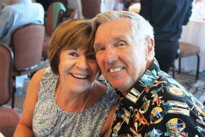 Great friends, Ed & Kathy