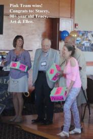 WINNERS Tracy, Ellen, Art & Stacey