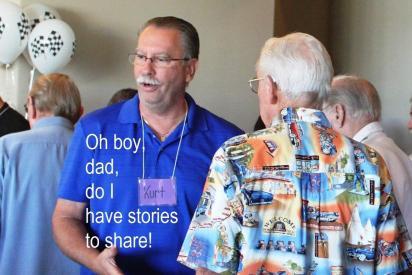 Kurt has stories to share