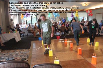 The Knee Trembler game