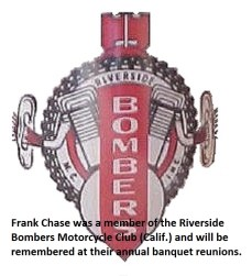 1955 a3 FRANK CHASE, member of Riverside Bombers motorcycle club