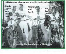 1959 Greenhorn a9b BUD DORTON, BUCK SMITH & CHARLES CURNUTT