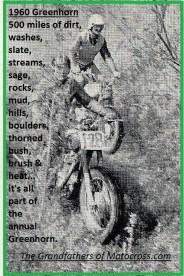 1960 Greenhorn r11 riding thru heavy brush