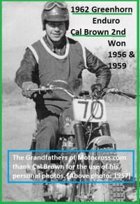 1962 Greenhorn P4 1957, CAL BROWN