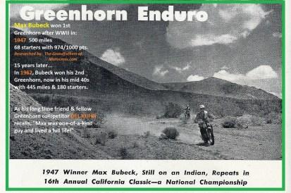 1962 Greenhorn b0 Max Bubeck,