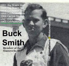 1965 Greenhorn, 3rd place BUCK SMITH, won 1959 & 1964 Greenhorn