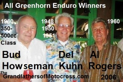 2006 Greenhorn winners AL ROGERS, Howseman & Kuhn