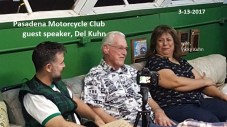 2017 3-13 a5 PMC meeting, guest speaker Del Kuhn shares old racing stories