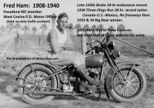 m17 PMC Member Fred Ham 1920s & 2000 AMA inductee, interesting life