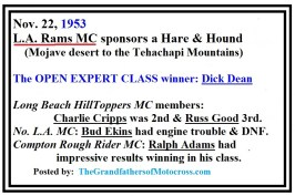 1953 11-a3 Rams H&H won by Dick Dean