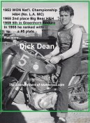1959 Greenhorn a13 Dick Dean 5th place & his other wins