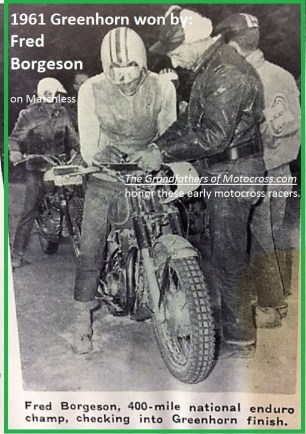1961 Greenhorn 26 Fred Borgeson
