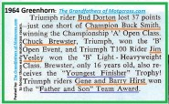 1964 Greenhorn z10 B Dorton 2nd, VESLEY, BREWSTER, HIRST