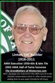 1964 Greenhorn z26 Linton Kuchler AMA 2003 1916-2011 94 yrs.
