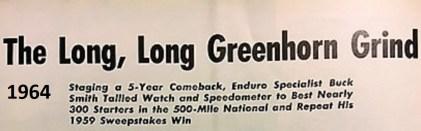 1964 Greenhorn z39 headline by Wineland