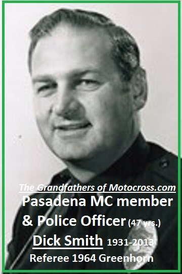 1964 Greenhorn z62 Dick Smith PPD & PMC 1964 referree...