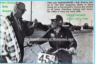1966 r25 Greenhorn checker BOB GREENE & 67 yr Lloyd Larson