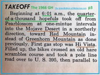 1966 r6 Greenhorn 250 entrants, Mojave Desert, Red Mt.