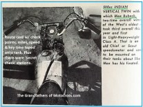 1966 r7a Greenhorn Max Bubeck timing device & route card