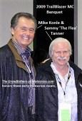2009 Mike Konle & Sammy The Flea' Tanner at TrailBlazer MC banquet
