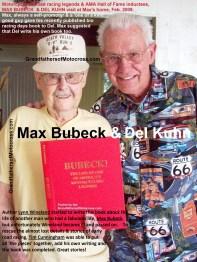 Bio of Lynn Wineland a15 Book, Max BUBECK & Del Kuhn, Cunningham