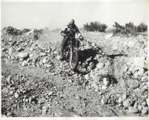 Misc. Dick Dean # manuvers around rocks. Checkers MC member