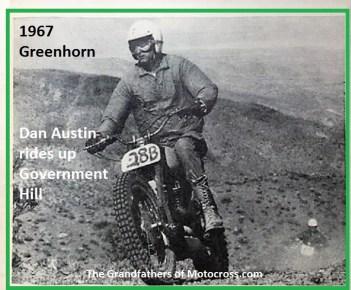 1967 B20 Greenhorn Dan Austin rides Government Hill