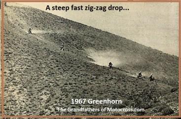 1967 C10 Greenhorn down hill