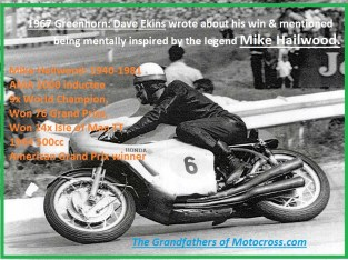1967 C21a Greenhorn in story Mike Hailwood