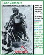 1967 C24 Greenhorn M3 bash plate, skid plate Del Kuhn remembers