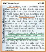 1967 C26 Greenhorn, J.N. Roberts on Husqvarna