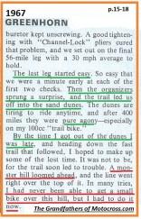 1967 C29 Greenhorn, dunes then hill